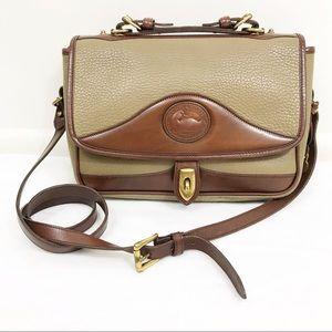 Vintage Dooney & Bourke Leather Satchel Crossbody